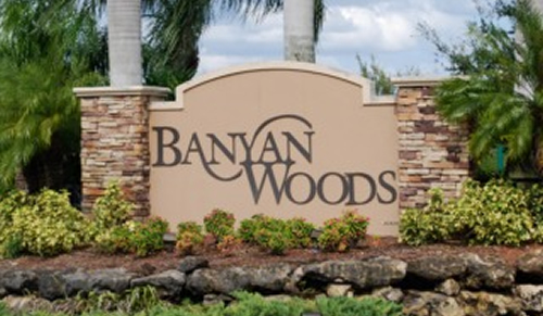 Banyan Woods community in Naples Florida