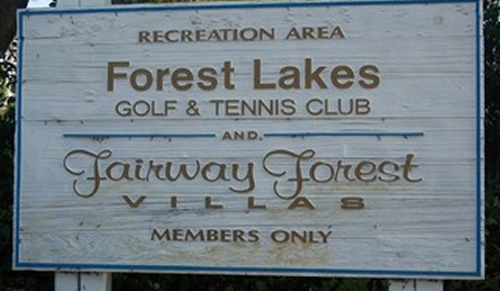 Forest Lakes Golf & Tennis Club - Fairway Forest Villas