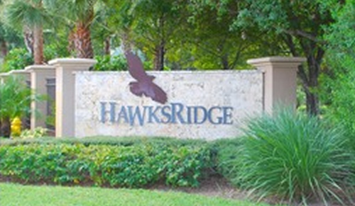 Hawks Ridge community