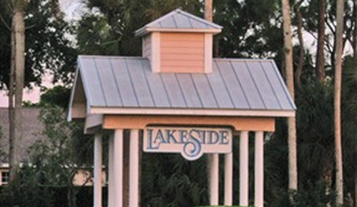 Lakeside community