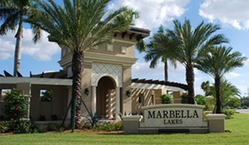 Marbella Lakes community