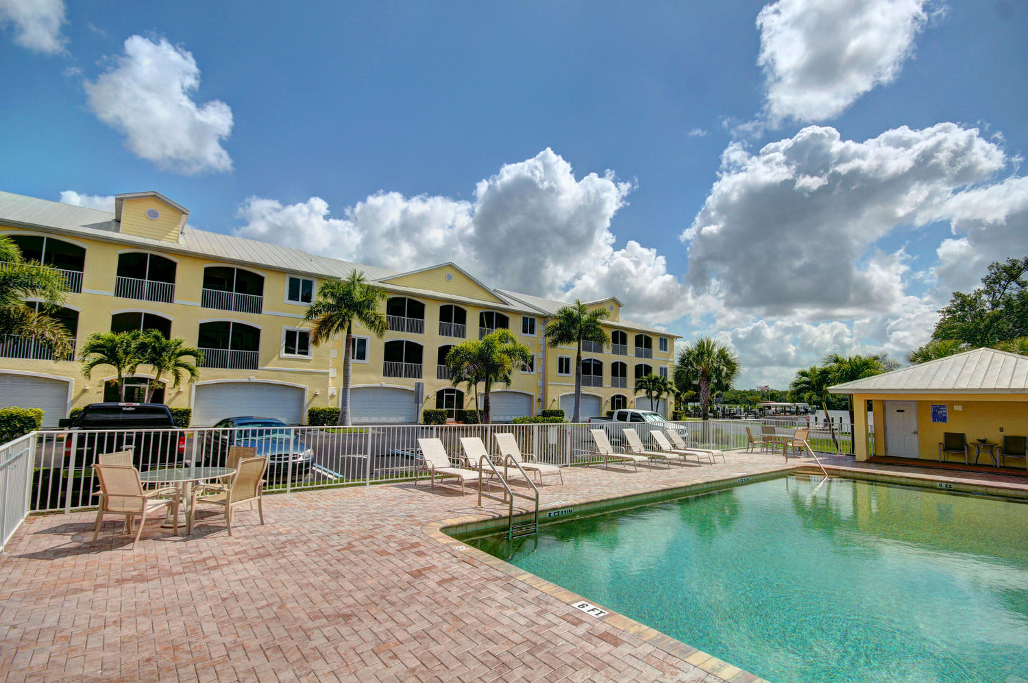 Pool view of 301 S Copeland Ave, #116, Everglades City, FL 34139