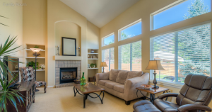 Krisandra Panting of Parallel 26 staged this living area for sale.