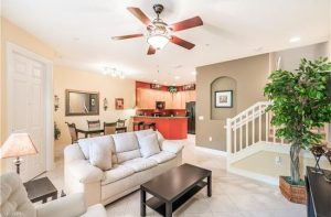 Living Room at Lely Resort condo for sale