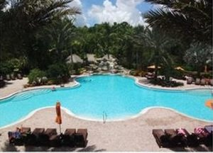 Pool at Delano Condo