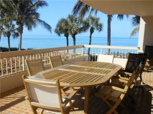 View from patio at 4005 Gulf Shore Blvd N, #106, Naples, FL 34103